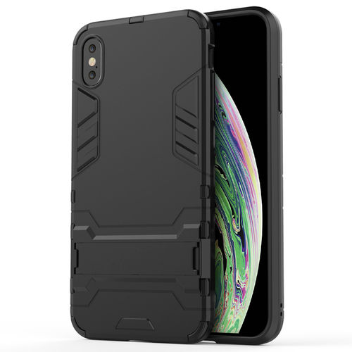 Slim Armour Tough Shockproof Case for Apple iPhone Xs Max - Black